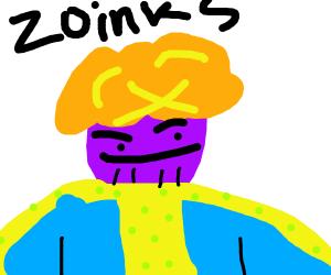Thanos as shaggy