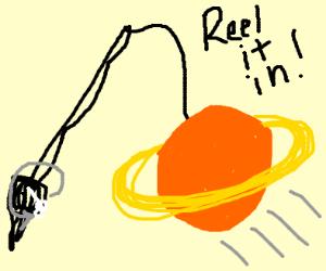 Reeling in Saturn