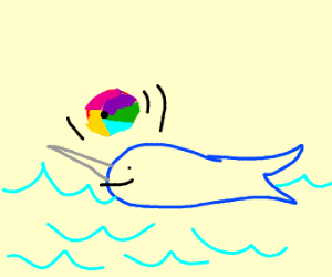Narwhal Playing