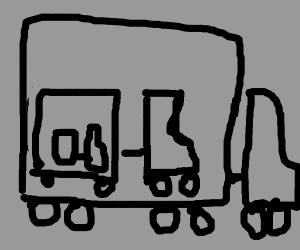 a Truck In a Truck In a Truck