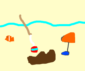 Fishing for a Shoe