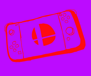 The Switch with Smash Bros Ultimate
