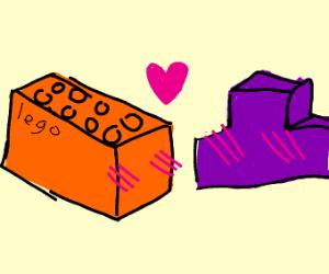 lego loves tetris