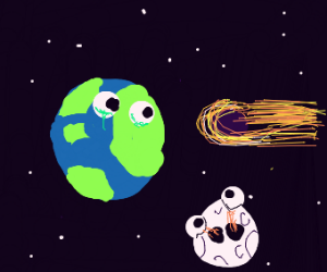 a meteor is going to hit the earth