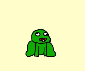 Derpy frog