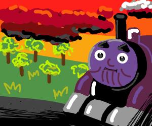 Thanos the tank engine
