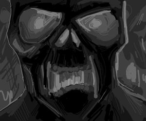 Zombie up close