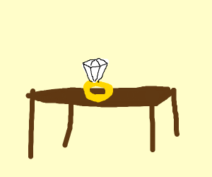Ring on a Table