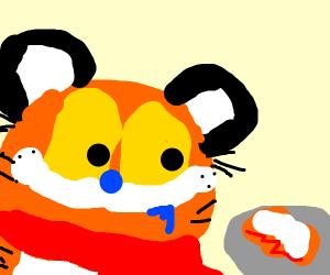 tigerman wants lasagna