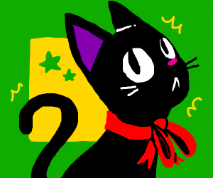 jiji, the cat from kiki's delivery service