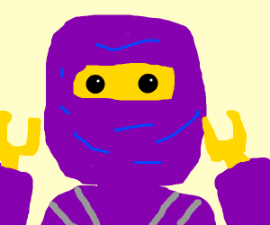 Purple guy from Ninjago