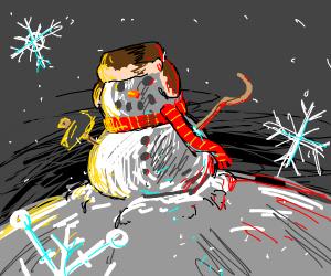 communist snowman