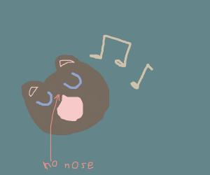 nose less bears singing