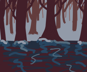 a bleak forest