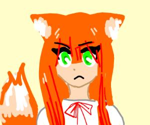 girl fox