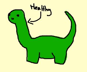 Healthy Stegosaurus