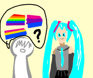 You questioning hatsume mikus sexuality
