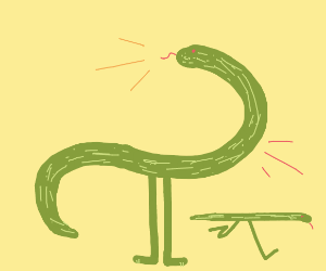If Snakes had Legs but no Arms