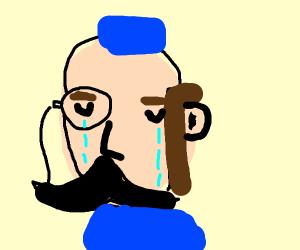 duke is sad