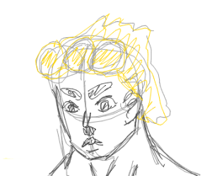 giorno is angry