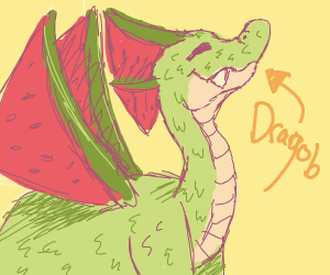 Dragob The Watermelon Dragon