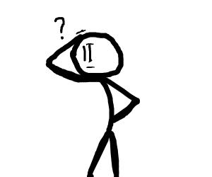confused stickman