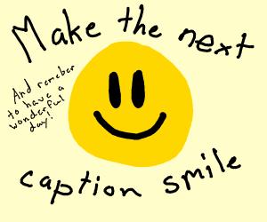 Make panel 3 smile