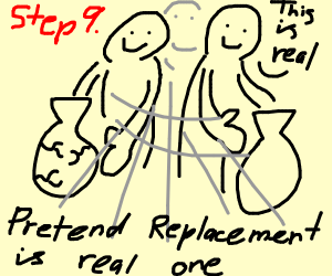 Step 8: find a replacement