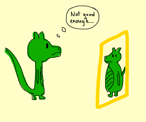 A dragon with anorexia