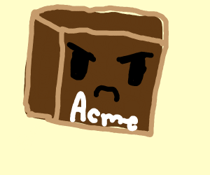 angry crate