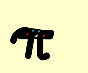 Pi is blushing