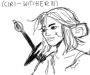 Ciri (The Witcher lll)