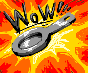 Wow, a saucepan!