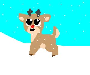 Rudolf the rednosed reindeer