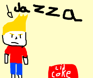 Jazza in fallout with a coke lid
