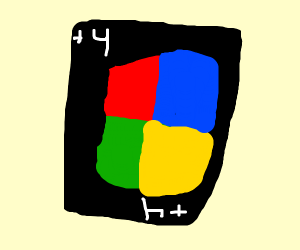 an uno wild draw 4 card