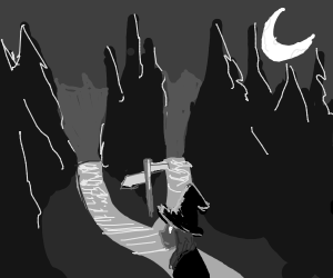 A Witch at a fork in the road