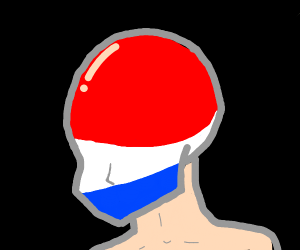 Pepsimans bald head