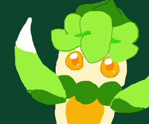 The pokemon that evolves into Lurantis