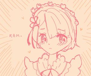 Ram from Re:Zero