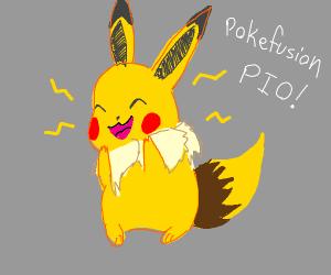 Pikachu+Eevee PokeFusion (PIO)