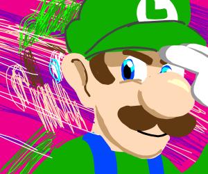 Luigi teleports behind you!