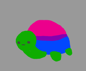 Bisexual Colored Turtle