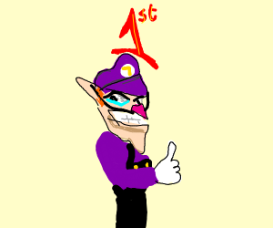 WALUIGI NUMBA ONE