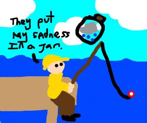Fisherman's sadness