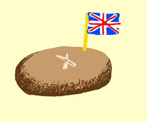 British piece of bread
