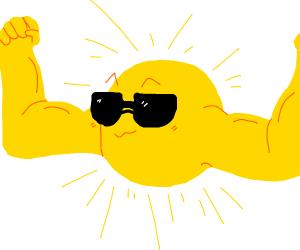 sun on steroids