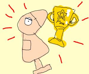 Mad dummy wins an award