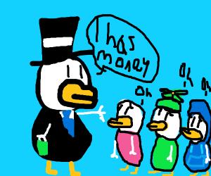 Rich duck tales