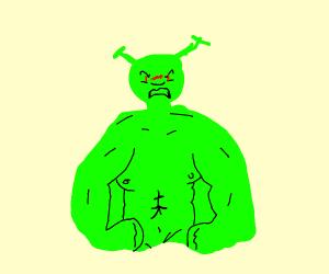 Shrek rages
